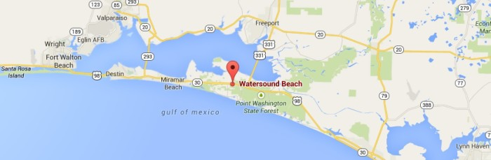 WaterSound Beach FL Vacation Rental
