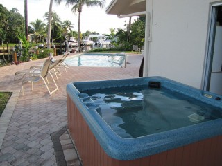 Hot Tub Pool and Waterfront